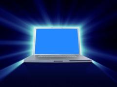 Laptop-glowing